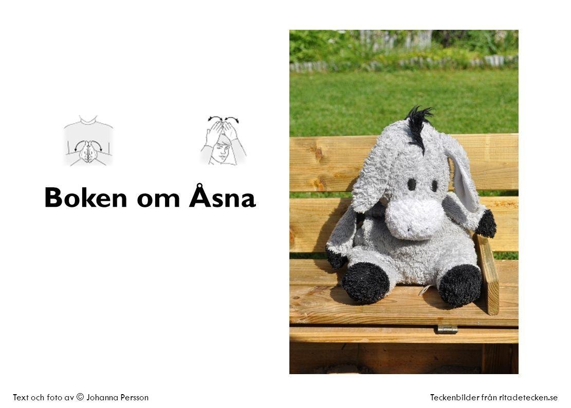 Boken om Åsna Text och foto av © Johanna PerssonTeckenbilder från ritadetecken.se