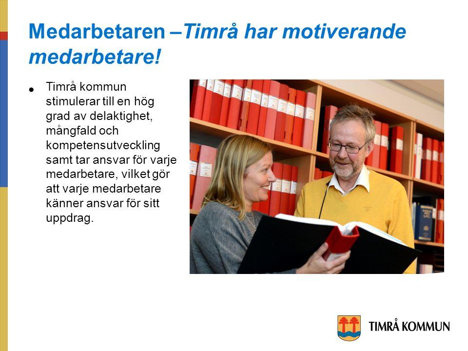Medarbetaren –Timrå har motiverande medarbetare.
