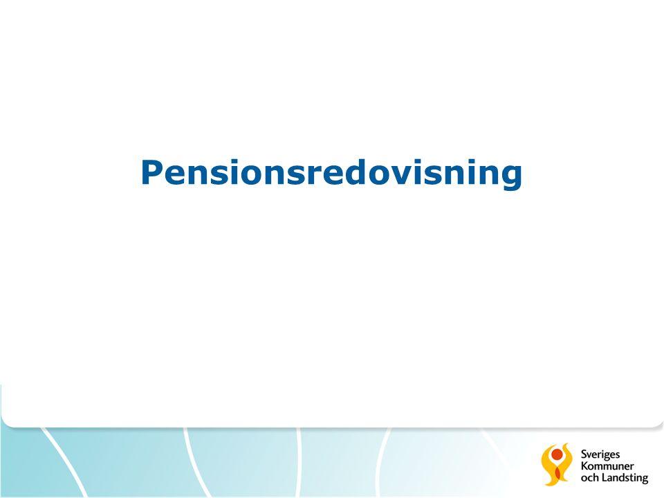 Pensionsredovisning