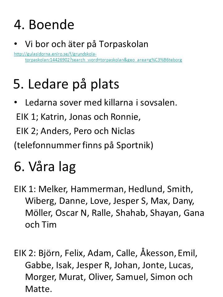 4. Boende Vi bor och äter på Torpaskolan http://gulasidorna.eniro.se/f/grundskola- torpaskolan:14426902?search_word=torpaskolan&geo_area=g%C3%B6teborg