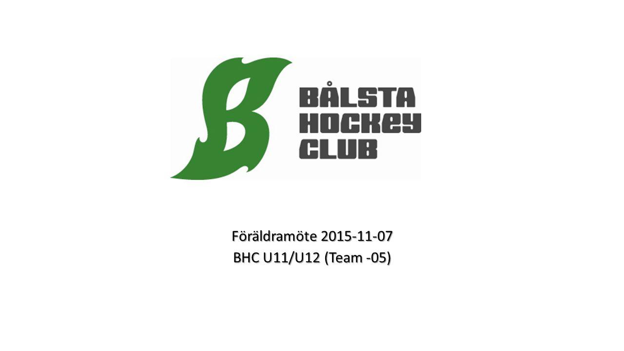 Föräldramöte 2015-11-07 BHC U11/U12 (Team -05)