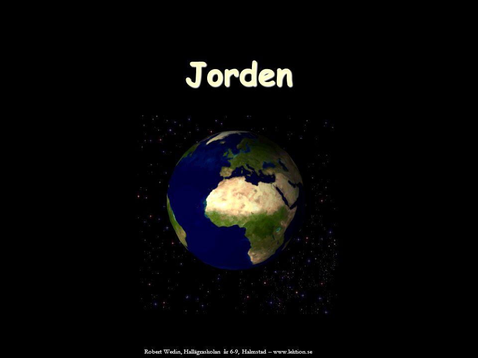 Jordens inre Jorden bildades för ca 4,6 miljarder år sedan.