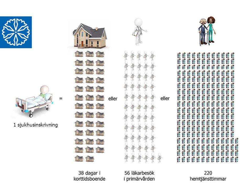 Region Östergötland Syfte 5 Identifiera och ta bättre hand om mångbesökare i öppenvård Minska risken för oplanerad återinläggning av patienter som behöver ytterligare vård och stöd sedan de skrivits ut från sjukhus