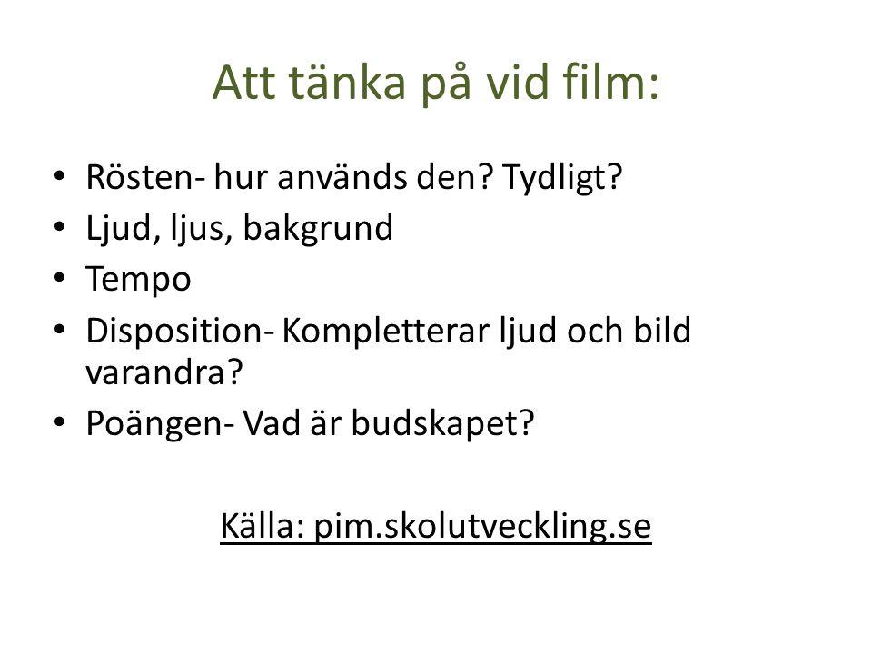 DOKUMENTATION Intervjuer Enkäter Fotografering/film Observationer
