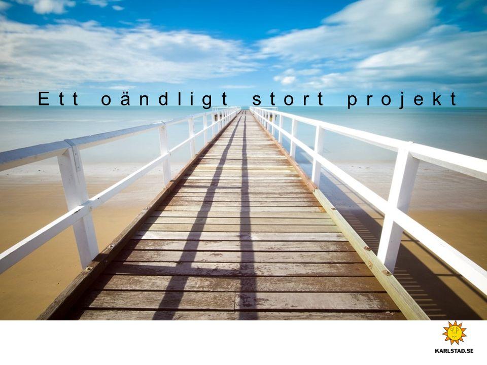 Ett oändligt stort projekt