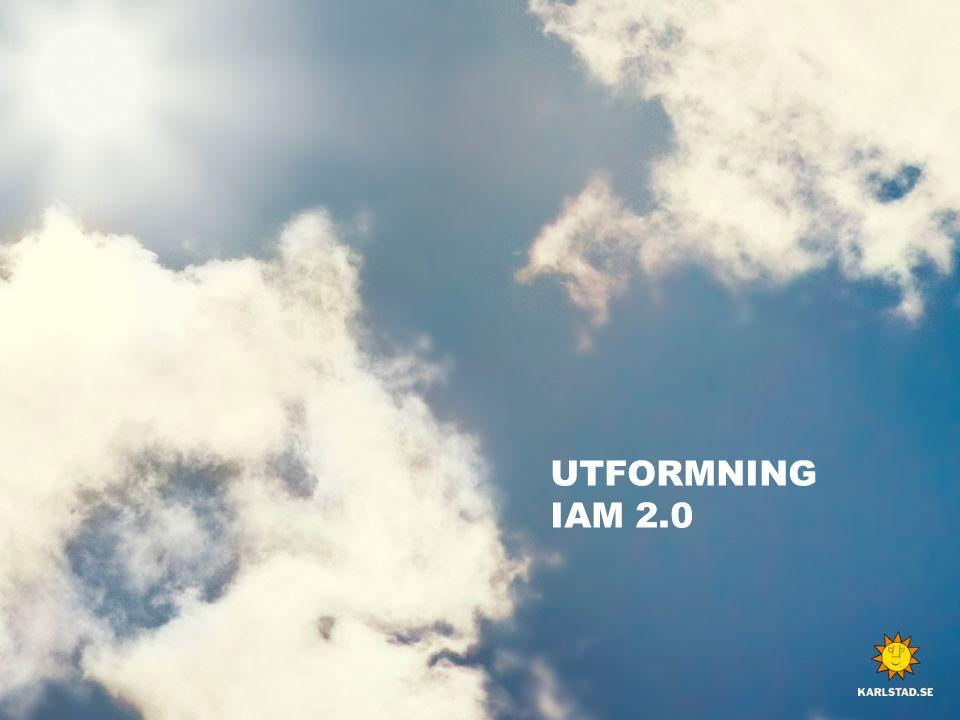 UTFORMNING IAM 2.0