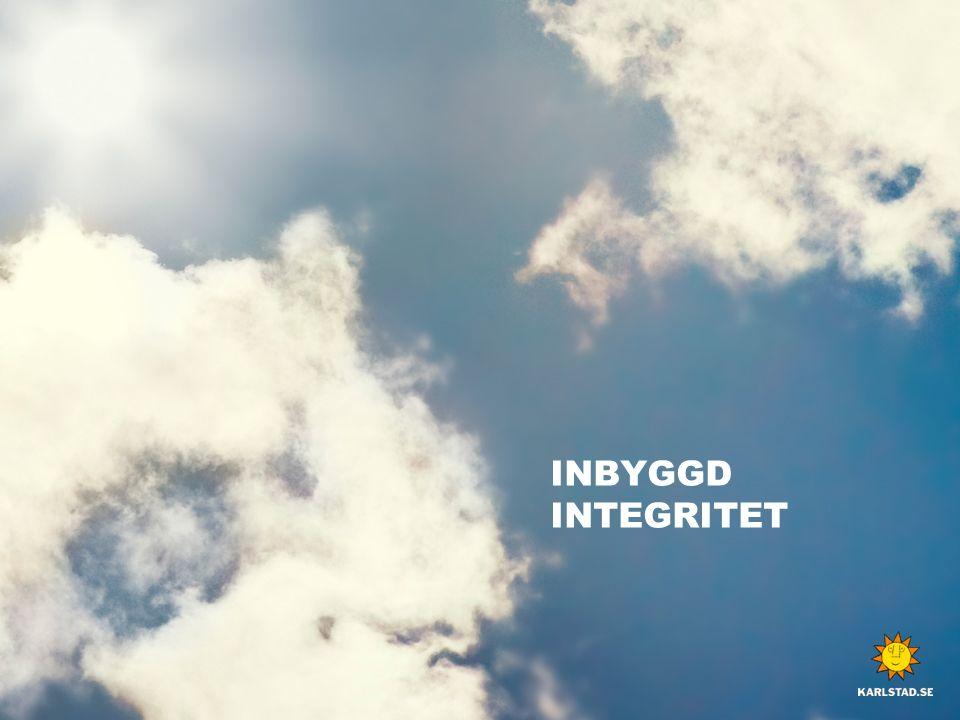 INBYGGD INTEGRITET