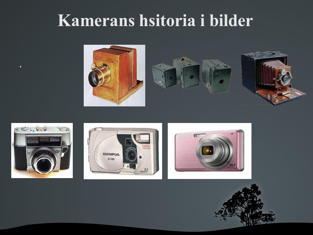 Tillverkning När man ska tillverka en kamera krävs det många olika råvaror som vi i sverige inte har.