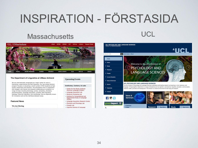 34 INSPIRATION - FÖRSTASIDA UCL Massachusetts