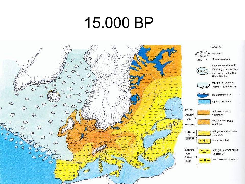 15.000 BP Från Born & Andersen 1994
