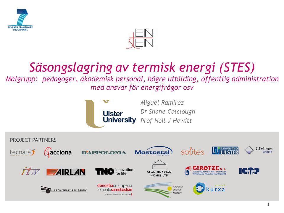Innehåll Vad är säsongslägring av termiskenergi (STES).