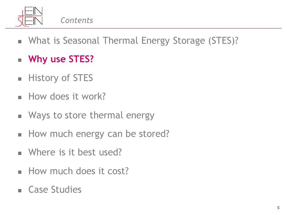 Varför använda STES.Uppvärmning av byggnader utgör 30-40%av den totala energikonsumtion I EU.