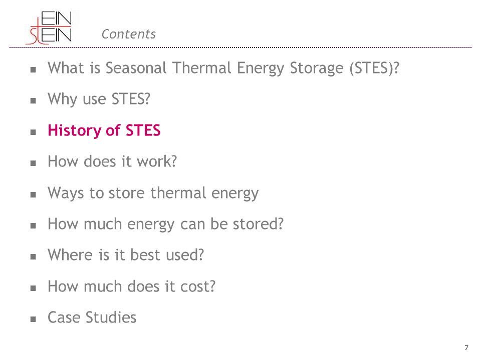 Direkt Laddning Direktladdning av ett STES-system börjar med uppvämningssäsongen.
