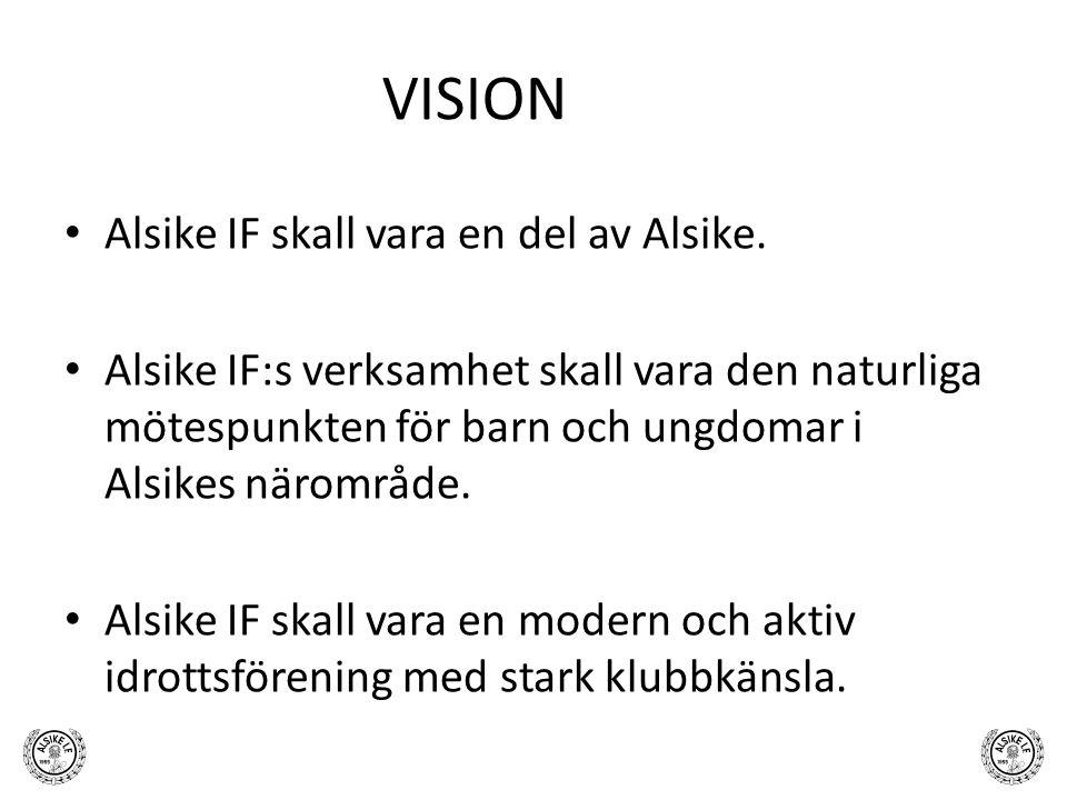 VISION Alsike IF skall vara en del av Alsike.