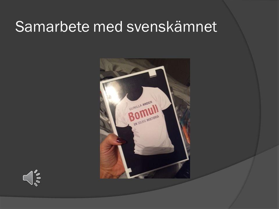 Samarbete med svenskämnet