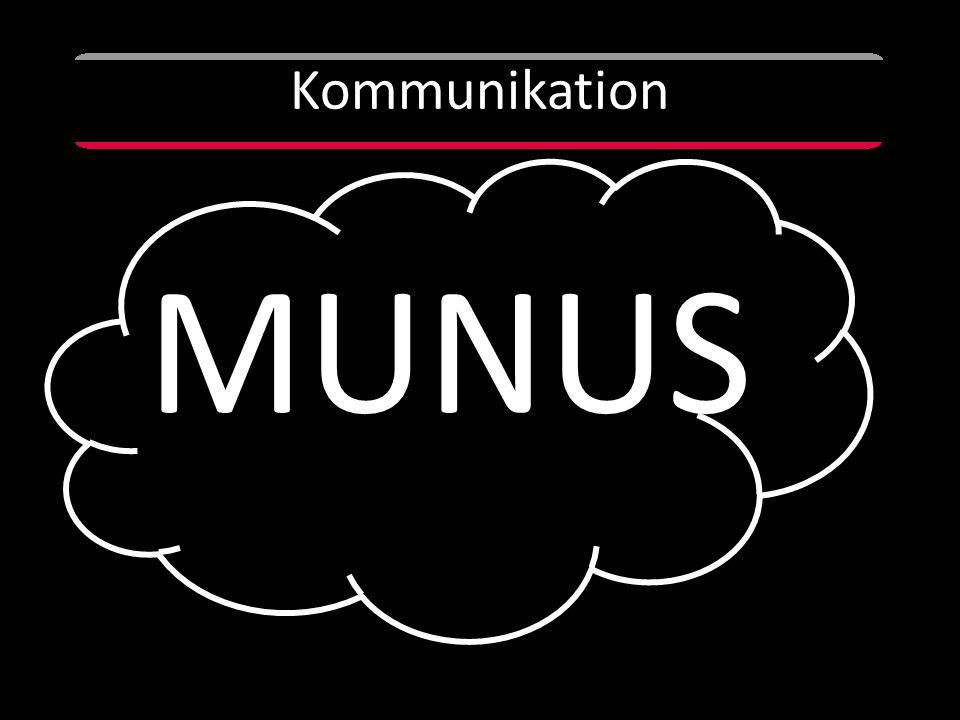 Kommunikation MUNUS