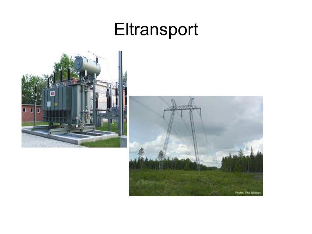 Eltransport