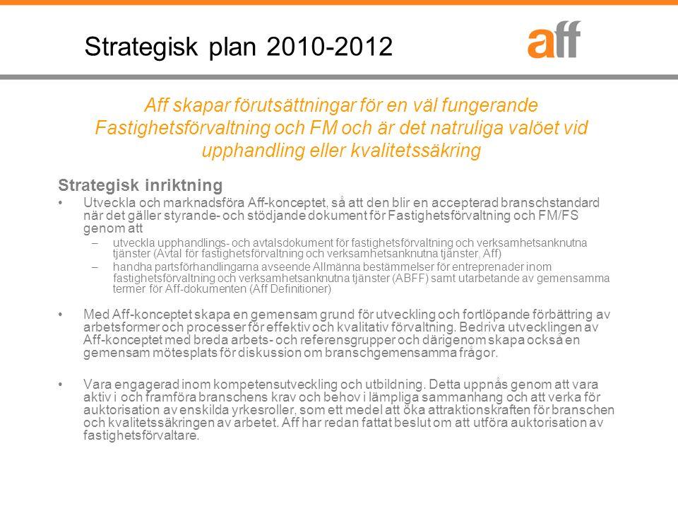 5 AFF:s organ och Arbetsformer Medlem Styrelse Strategi/Utveckling Medlem Aff Service AB VD *) ABFF- utskottet *) Bolaget är Aff:s operativa och kommersiella organ.