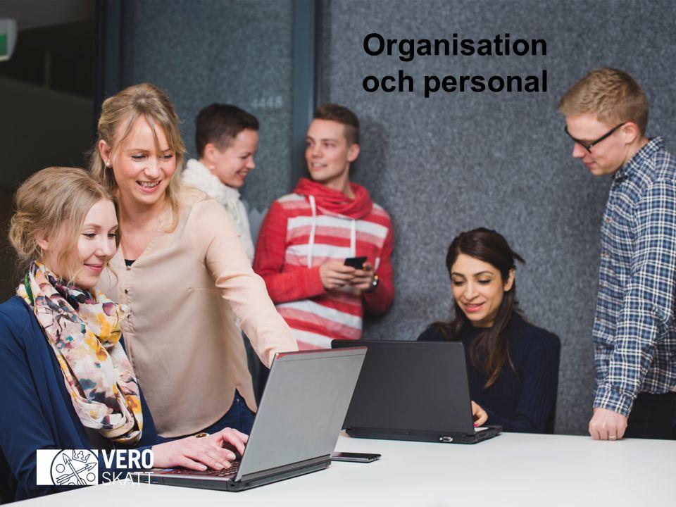 Organisation och personal