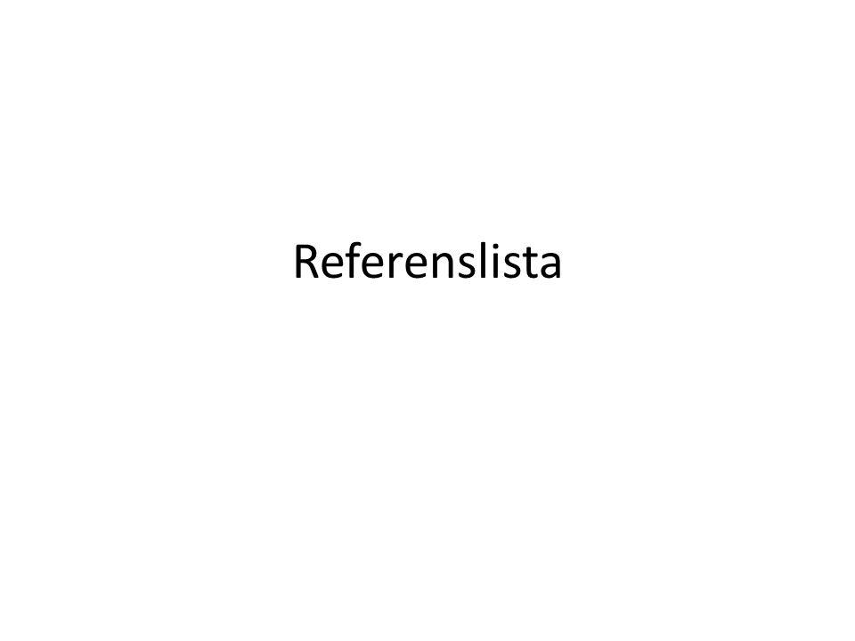 Referenslista