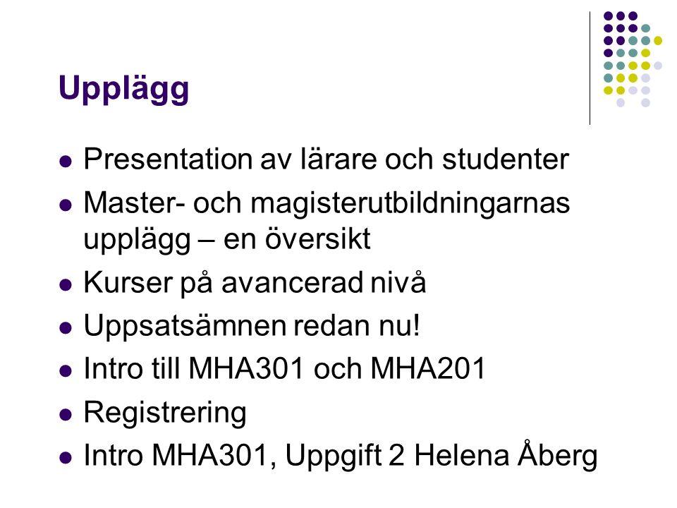 Kommunikation via GUL, Göteborgs universitets lärplattform!