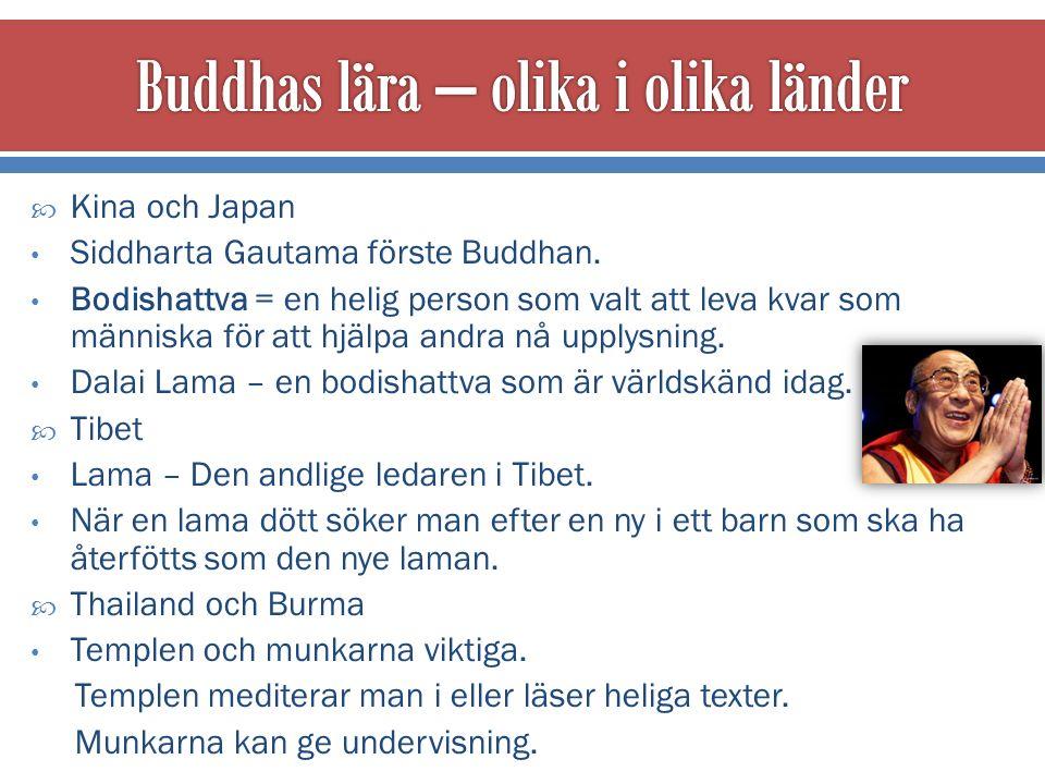  Buddhismen sprids i Indien, till Sri Lanka och Sydostasien.