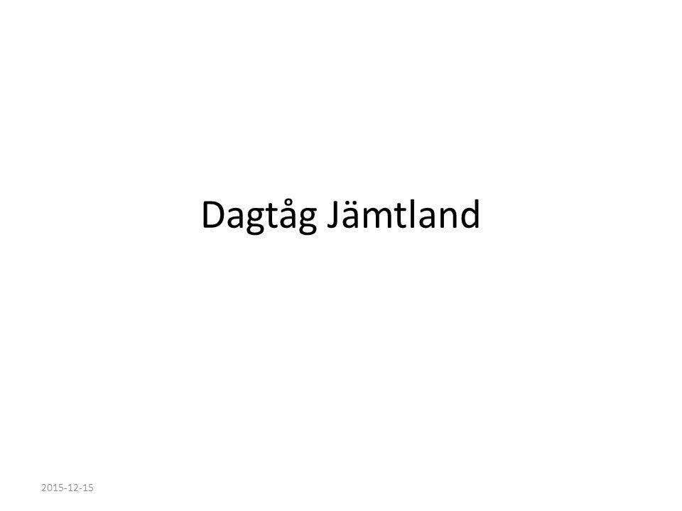Dagtåg Jämtland 2015-12-15