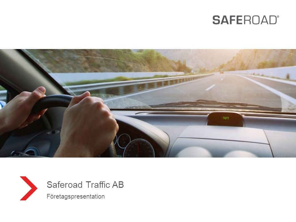 1 Saferoad Traffic AB Företagspresentation