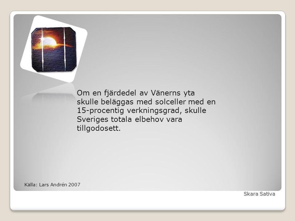 Solen – den ursprungliga kraftkällan Tack för mig! Maria Schön, Skara Sativa maria@skarasativa.se