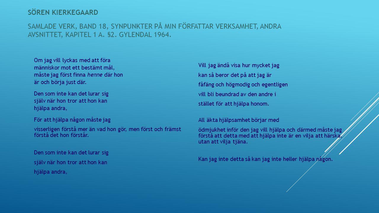 OBLIGATORISKA INSLAG I HAP: Forts…..