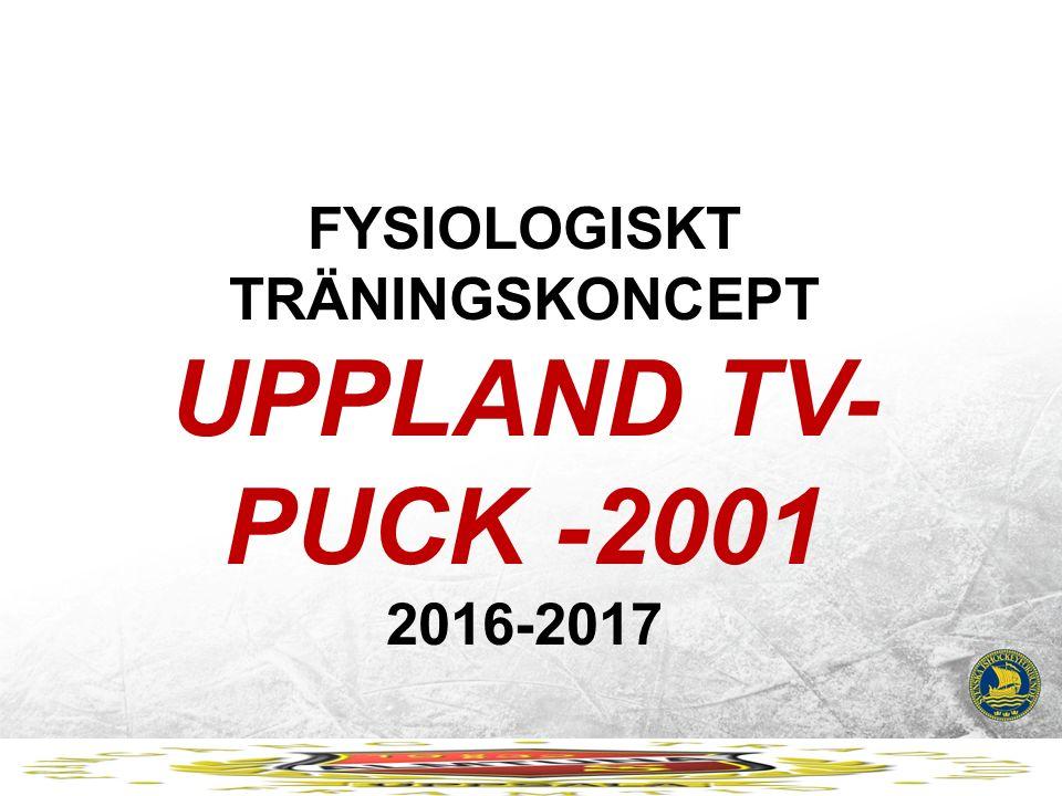 FYSIOLOGISKT TRÄNINGSKONCEPT UPPLAND TV- PUCK -2001 2016-2017