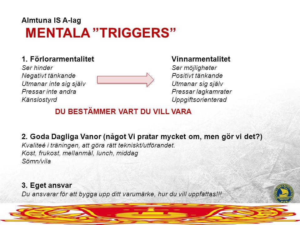 Almtuna IS A-lag MENTALA TRIGGERS 1.