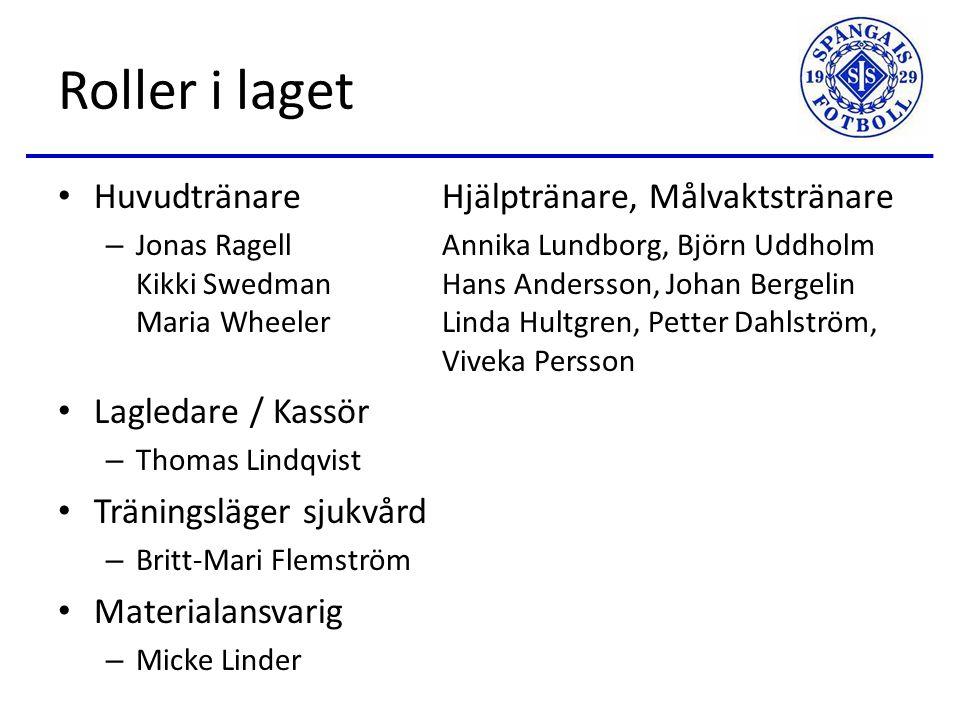 2015 och Aktuell Status 2015 Utökat samarbete inom åldersgruppen… – Gemensamma träningar – 4 lag i S:T Erikscupen.