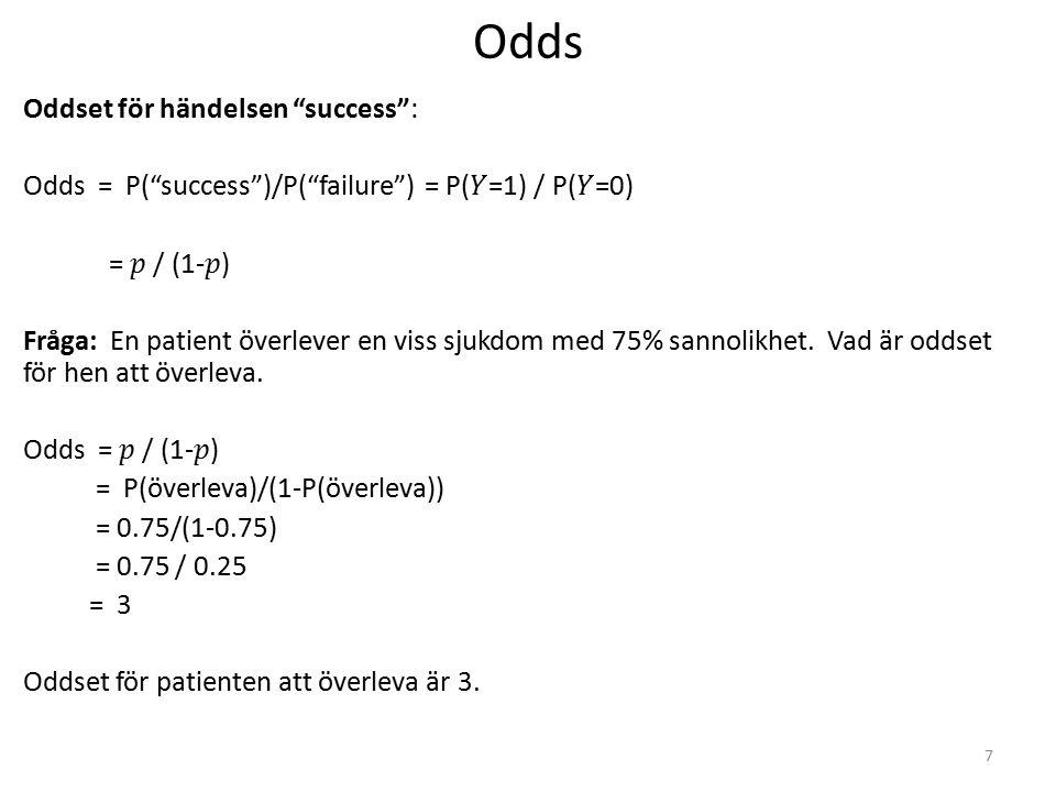 Vilket statistikverktyg.Fall 1. Känslor av värdefullhet.