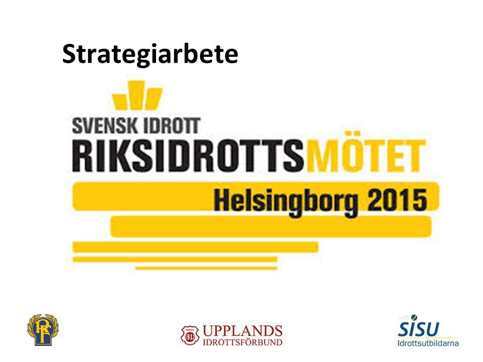 Strategidokument Förnyad verksamhetsidé för idrottsrörelsen Nya gemensamma övergripande och konkreta mål och verksamhetsplaner