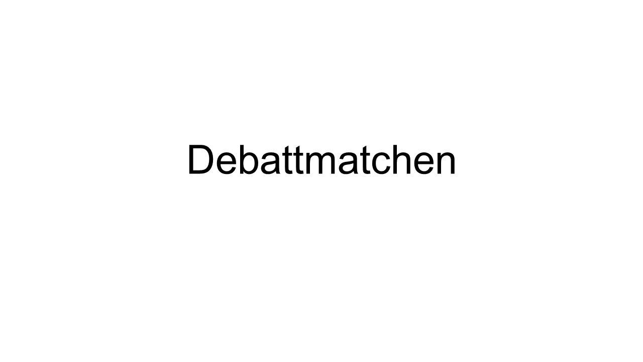 Debattmatchen