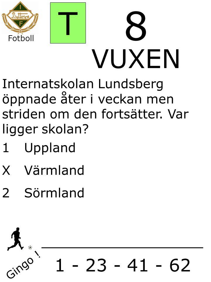 1Uppland X Värmland 2 Sörmland Gingo .