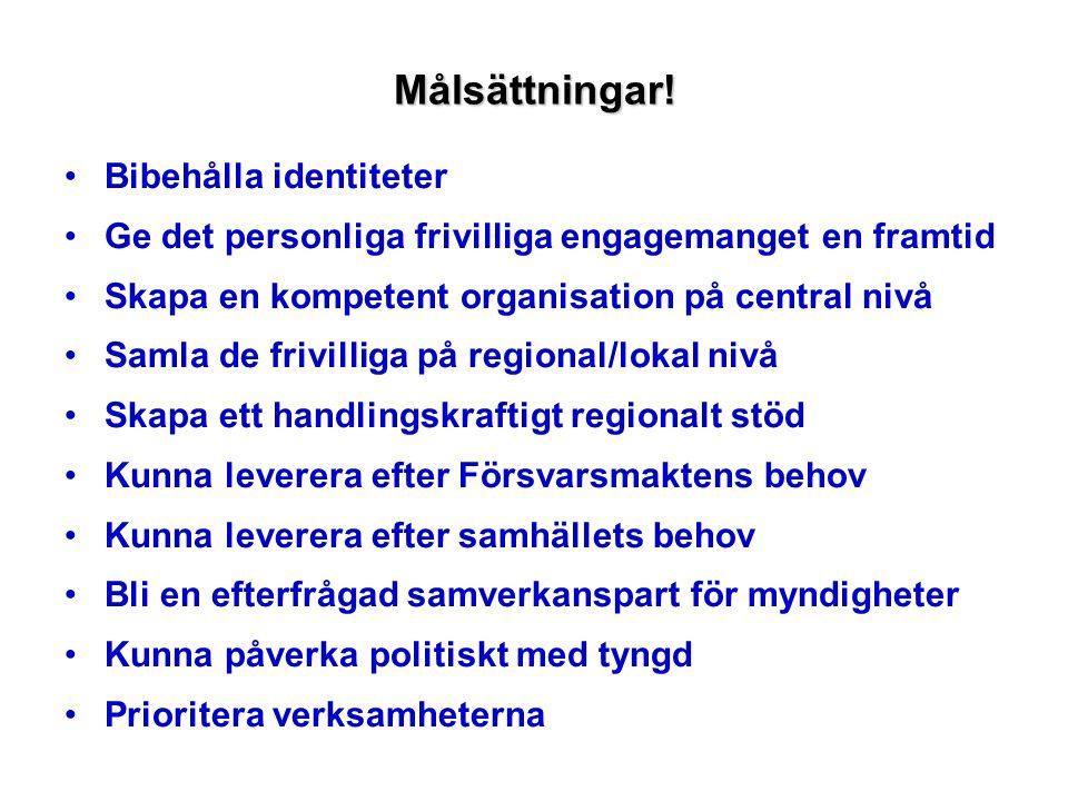 Paraplyorganisation för frivilligorganisationer med huvudinriktning Försvarsmakten 10 organisationer, varav FAK betraktas som så nära Bilkåren att de tagits med i jämförelsealternativet.