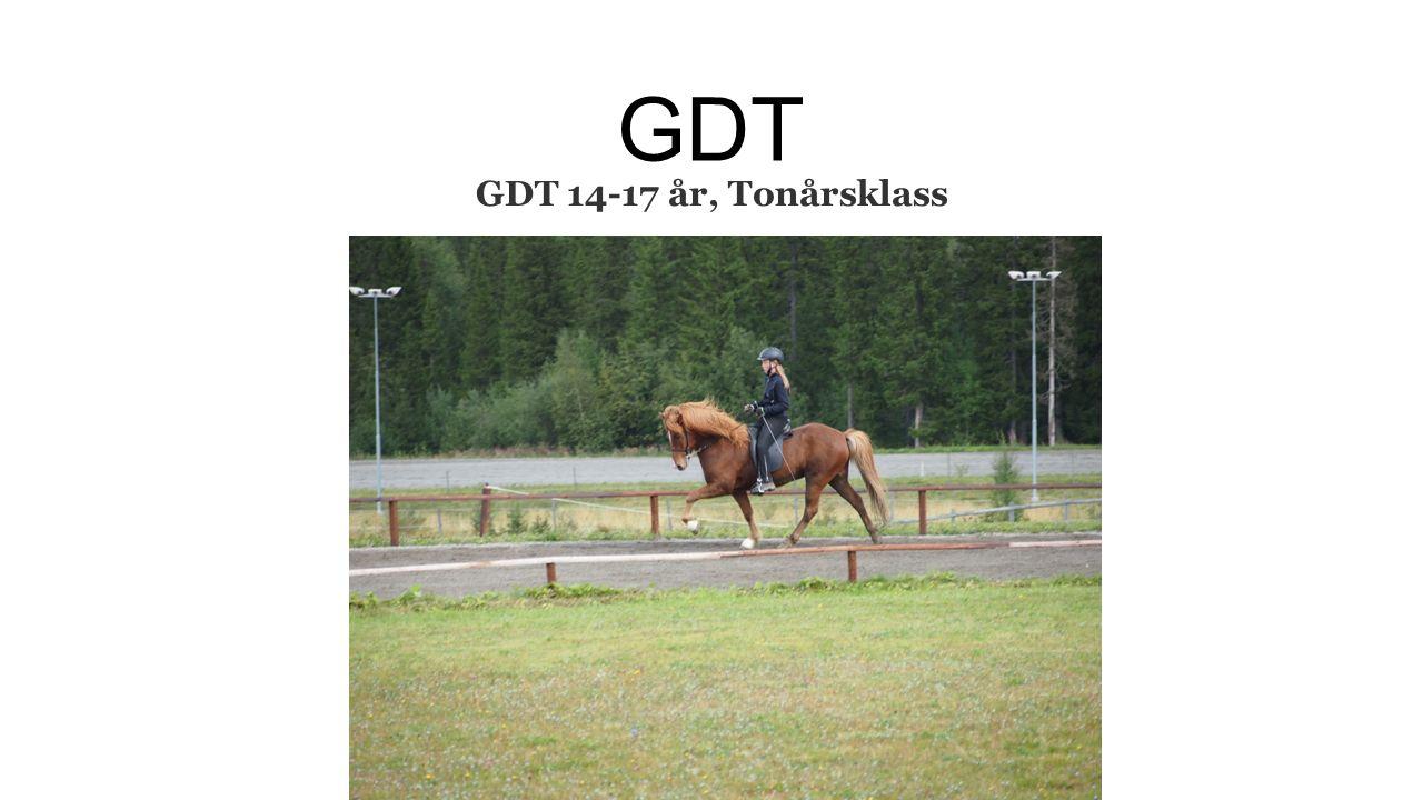 GDT GDT 14-17 år, Tonårsklass
