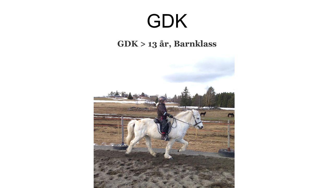 GDK GDK > 13 år, Barnklass
