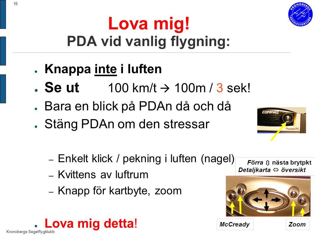 Kronobergs Segelflygklubb 16 Lova mig.