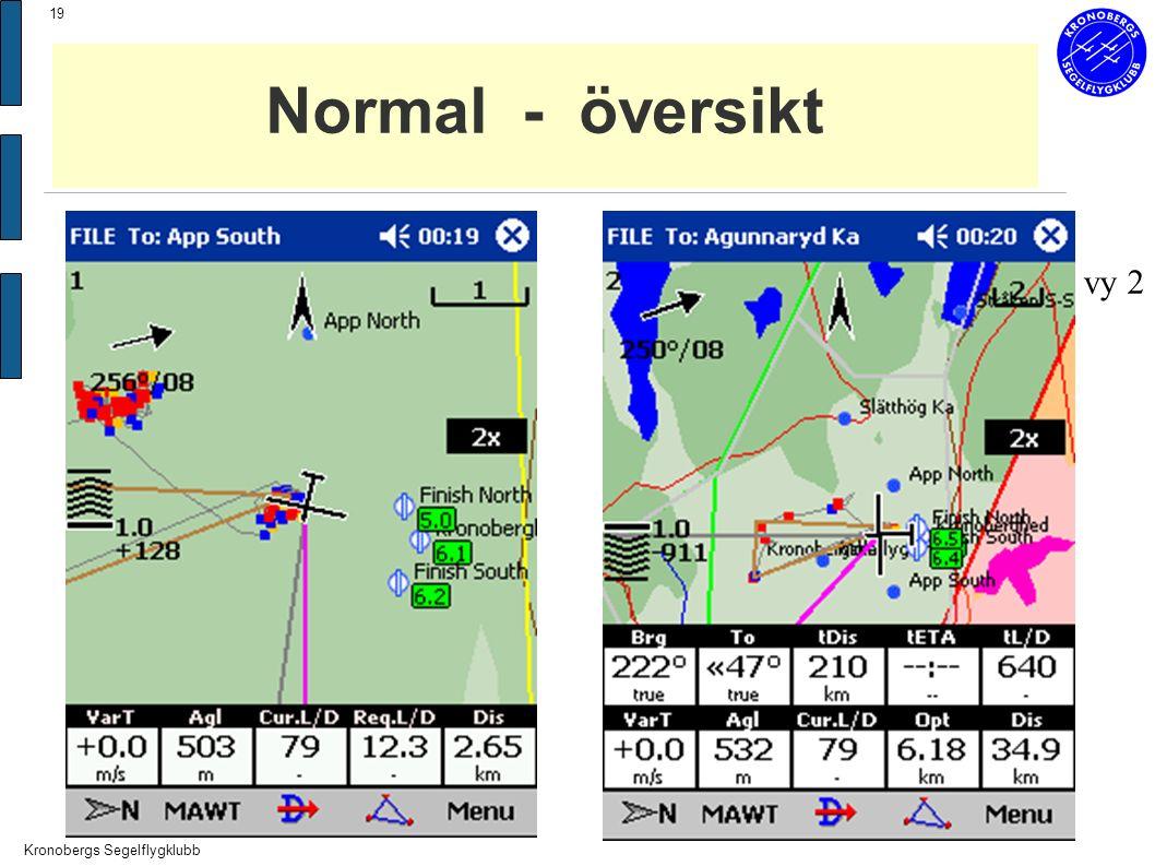 Kronobergs Segelflygklubb 19 Normal - översikt vy 2