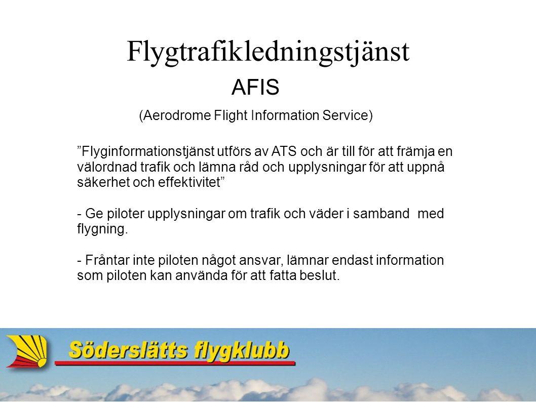 TIZ/TIA - Trafikinformation - Väderinformation - Alarmeringstjänst