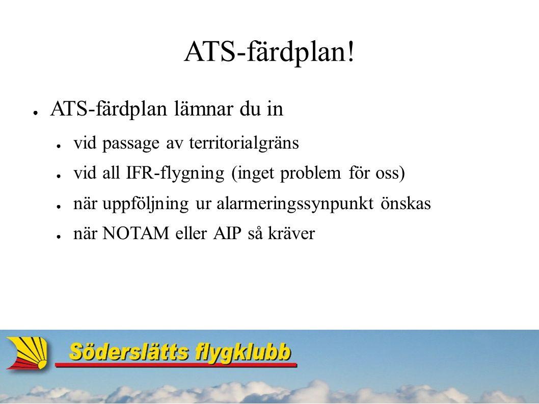 ATS-färdplan.