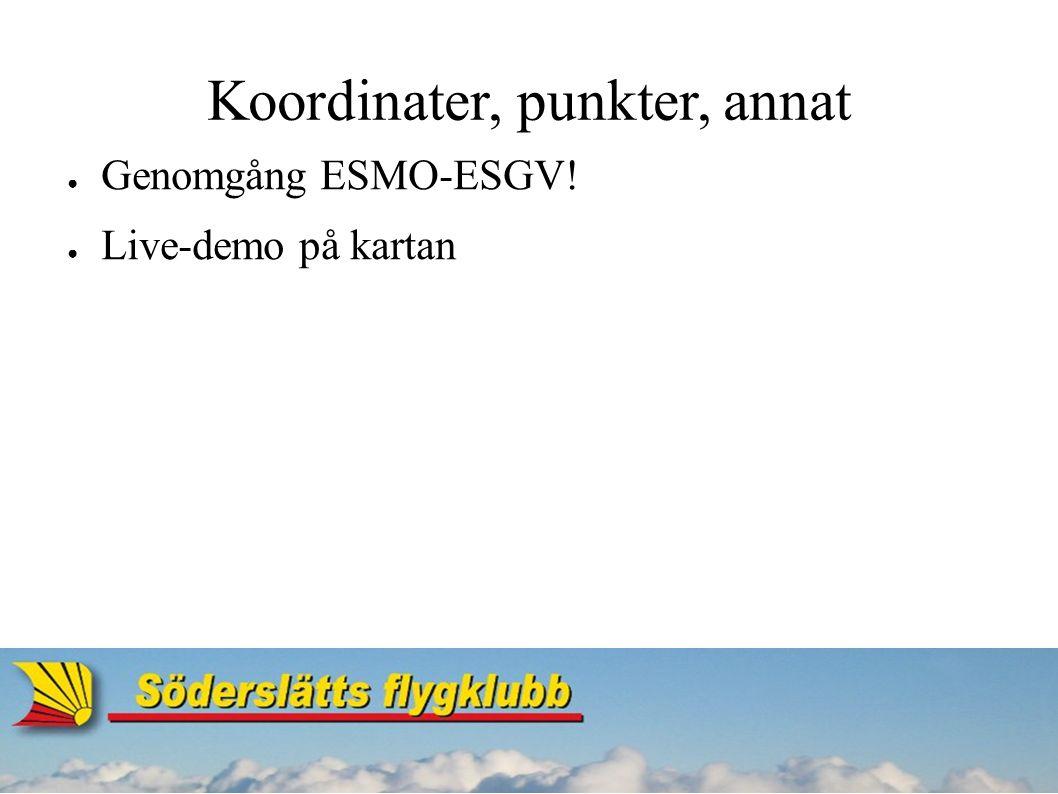 Checklista för färdplanering ● Finns i Svenska flygfält.