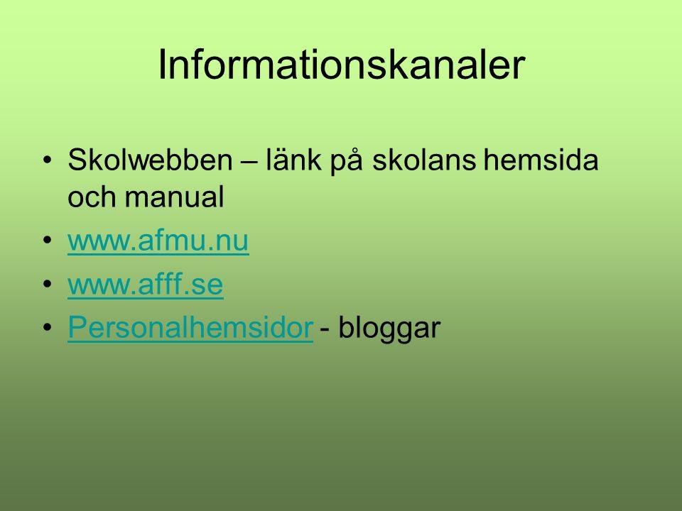 Kommande händelser Skoljogg torsdag 18 september- springslant.