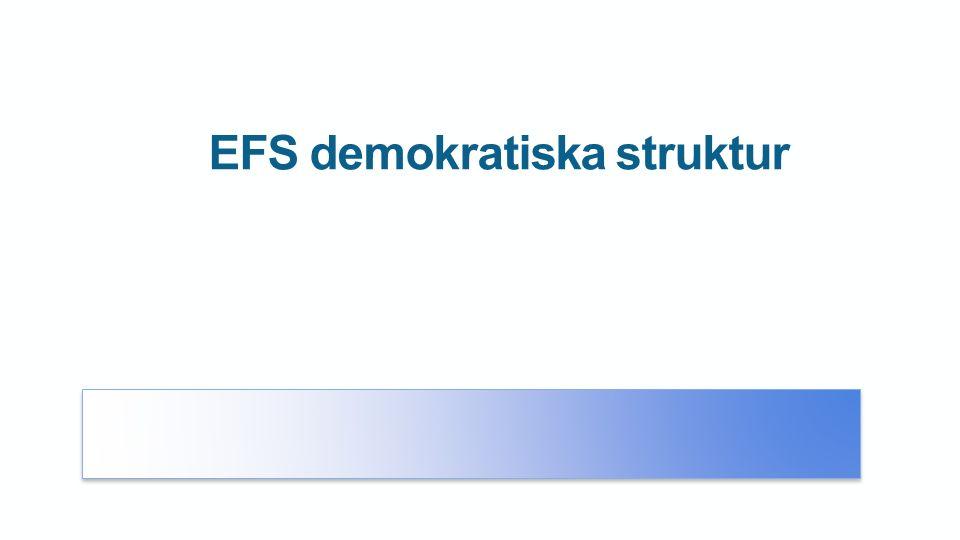 EFS demokratiska struktur