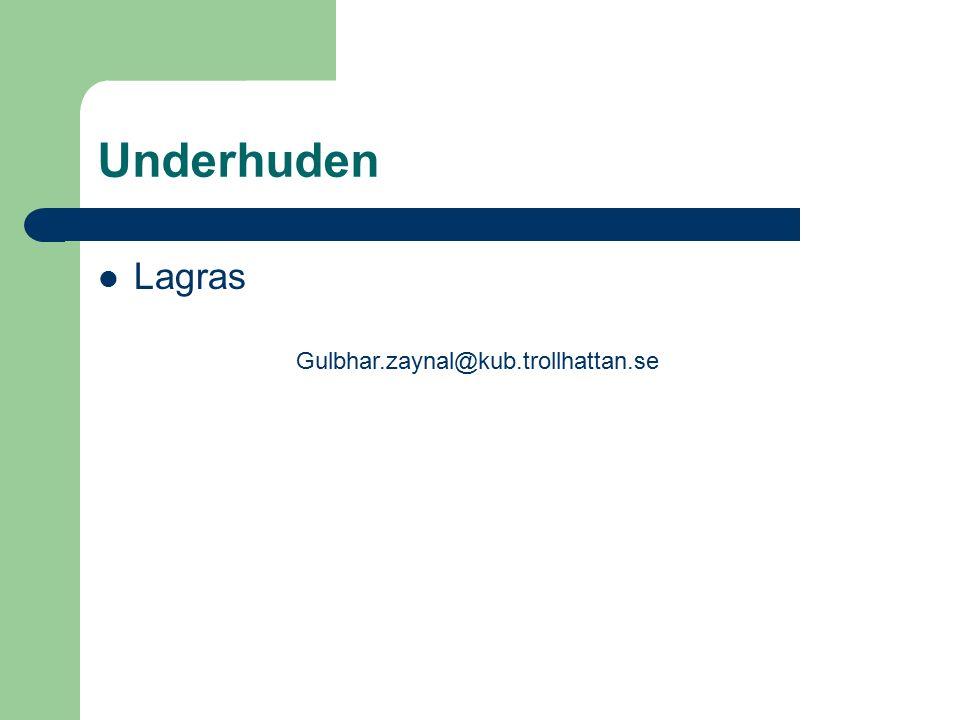Underhuden Lagras Gulbhar.zaynal@kub.trollhattan.se