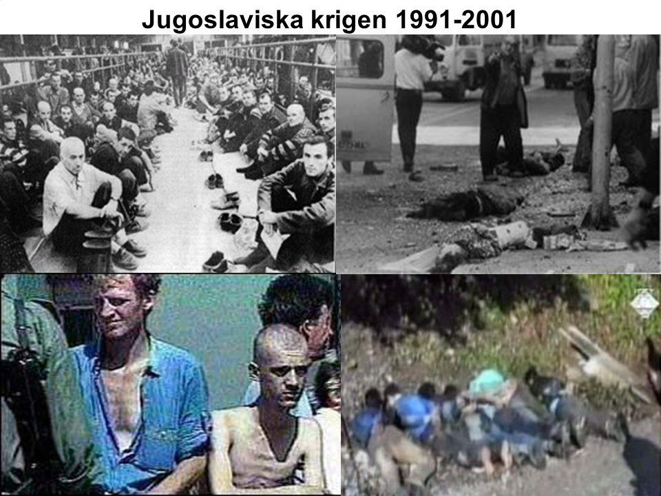 Jugoslaviska krigen 1991-2001