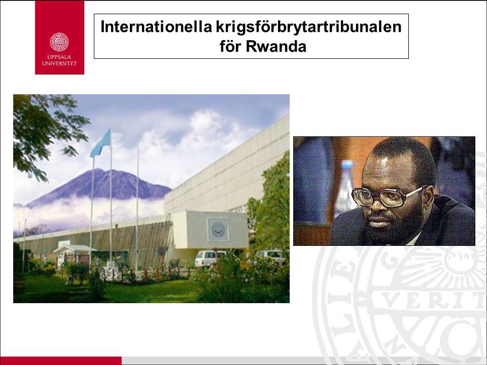 Internationella krigsförbrytartribunalen för Rwanda